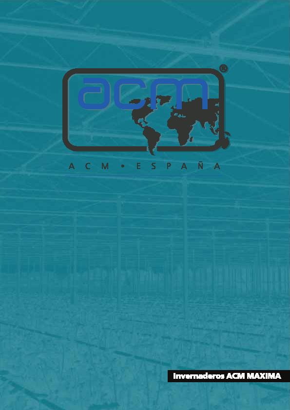 Invernaderos ACM Máxima